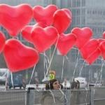 """ลูกโป่งหัวใจ สีแดง ไซส์ 11 นิ้ว แพ็คละ 10 ใบ (Heart Latex Balloon - Red Color 11"""")"""
