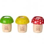 ของเล่นไม้ ของเล่นเด็ก ของเล่นเสริมพัฒนาการ Mushroom Kaleidoscope 6 ชิ้น (ส่งฟรี)