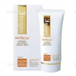 Smooth E Physical SunScreen SPF 52 15 g. สีขาว