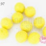ลูกบอล Feit 15มิล #3 สีเหลือง (5ลูก)