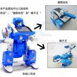 DIY หุ่นยนต์พลังแสงอาทิตย์ Transformers 3in1
