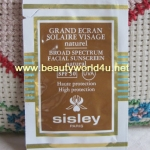Sisley Broad Spectrum Facial Sunscreen SPF 30 # natural 2 ml. ขนาดทดลองแบบซอง