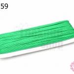 เชือกไหม สีเขียว 1หลา(90ซม)