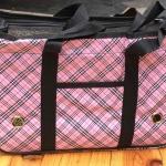 กระเป๋าน้องหมาสก็อตชมพูอ่อนไซด์ M