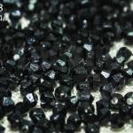 คริสตัลพลาสติก สีดำ 3มิล (8,654เม็ด)