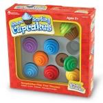 ของเล่นเสริมพัฒนาการ Smart Snacks Shape Sorting Cupcakes