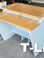 """โต๊ะคอมพิวเตอร์ร้านเกมส์ T-Line """"เมลามีน"""""""