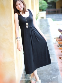 Sexy Black Magic Dress