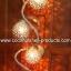 Coconut Shell Lamp (โคมไฟกะลามะพร้าวโมบายสายเกลียว) thumbnail 1