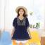 K11051 เสื้อคลุมท้องแฟชั่นเกาหลี โทนสีม่วง ผ้านิ่มมากๆ ค่ะ ใส่สบาย ใส่หลวมๆ ใส่คู่กับกางเกงดูน่ารักมากๆ ค่ะ thumbnail 6
