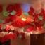 ลูกโป่ง LED สีส้ม แพ็ค 5 ชิ้น ไฟกระพริบ Blink mode (Orange Color Balloons - LED Blink Mode) thumbnail 2