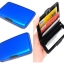 Metafun Wallet Set กระเป๋ากันน้ำ กระเป๋าตังค์ กระเป๋านามบัตรอลูมิเนียม แพค 3 ใบ คละสี thumbnail 1