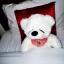 ตุ๊กตาหมีหลับ ตุ๊กตาหมีตัวเล็ก ขนาด 45 CM สีขาว thumbnail 1