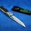 มีดพก มีดสปริง ขนาดใหญ่ 5.5 นิ้ว มีไฟแช็ค ไฟฉาย ด้ามงา thumbnail 6