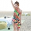 พร้อมส่ง ชุดว่ายน้ำคู่รัก บิกินี่ เซ็ต 3 ชิ้น colorful สีสันสดใส (บรา+บิกินี่+ผ้าคลุมซีทรู) thumbnail 15