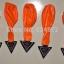 ลูกโป่ง LED สีส้ม แพ็ค 5 ชิ้น ไฟกระพริบ Blink mode (Orange Color Balloons - LED Blink Mode) thumbnail 1