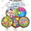ลูกโป่งฟลอย์นำเข้า Get Well Rainbow / Item No. AG-11075 แบรนด์ Anagram ของแท้ thumbnail 4