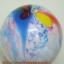 """ลูกโป่งกลมพิมพ์ลาย สีรุ้ง ไซส์ 12 นิ้ว แพ็คละ 5 ใบ (Round Balloons 12"""" - Rainbow Printing latex balloons) thumbnail 12"""