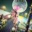 ลูกโป่งพลาสติกใส ทรงกลมแบน ไซส์ 24 นิ้ว - Clear PVC Balloons / Item No. TL-G041 (ไม่รวมลูกโป่งด้านใน) thumbnail 1