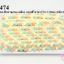 ปอมเส้นยาว (เล็ก) สีโอรส-ฟ้าพาลเทล-เหลือง แถบสีโอรส กว้าง 1.5ซม (1พับ/18หลา) thumbnail 1