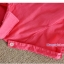 เสื้อเชิ้ตคลุมท้องคอปก สีแดงอ่อน ปักลายตัว R : SIZE XL รหัส SH145 thumbnail 8