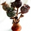 Coconut Shell Lamp Opium Flowers (โคมไฟกะลามะพร้าวแจกันดอกไม้ฝิ่น) thumbnail 1