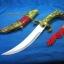 มีดนักรบจีน ทรงโบราณ ใบมีดสแตนเลสสตีล ตัวโลหะ thumbnail 3