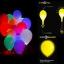 ลูกโป่ง LED สีน้ำเงิน แพ็ค 5 ชิ้น ไฟสว่างเหมือนโคมไฟ (LED Blue Balloon - LED Fixed Mode) thumbnail 3