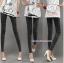 กางเกงยีนส์เดฟขายาว สีโทนดำ : SIZE L รหัส PN061 thumbnail 5