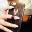 ** พร้อมส่งค่ะ ** เคส iPhone 5/5s/se ลายสาน สีดำใส thumbnail 4
