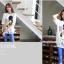 เสื้อคลุมท้องแขนสั้น ลาย Mickey Mouse ใส่แว่น : สีขาว รหัส SH215 thumbnail 3