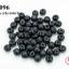 ลูกปัดไม้ทรงกลม สีดำ 10 มิล (1ขีด/100กรัม) thumbnail 1