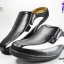 รองเท้าหนังเปิดส้น CSB ซีเอสบี รหัส CM421 สีดำขลิบขาว เบอร์ 41-45 thumbnail 1