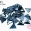 เพชรสอยสีรมดำ สามเหลี่ยม2รู 11X13มิล (1ขีด/623ชิ้น) thumbnail 1