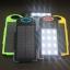 แบตสำรอง Power Bank พลังงานแสงอาทิตย์ 3 ระบบ กันน้ำได้ Solar Charger with LED Light ขนาด 50000 mAh thumbnail 2