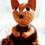 โคมไฟกะลามะพร้าวรูแแมว Coconut Shell Lamp Catty thumbnail 2