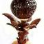 Coconut Shell Lamp (Flower Tree) (โคมไฟกะลามะพร้าวดอกไม้) thumbnail 1
