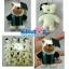 """พวงกุญแจแฮนด์เมค 2.5"""" ตุ๊กตา หมีปริญญา thumbnail 3"""