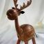 ออมสินกะลามะพร้าวรูปกวาง Coconut Shell Deer Saving thumbnail 2