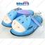 รองเท้า หมีพู+เพื่อน-Pooh&Friends Slipper รุ่นด๊อกแด๊ก พื้นบาง ฟรีไซส์(เบอร์36-38) thumbnail 4