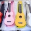 """อูคูเลเล่ Ukulele UMA รุ่น UK-01S Color สี เคลือบ Soprano 21"""" ไม้ Linden สาย Clear ฟรีกระเป๋า thumbnail 1"""