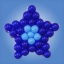 กรอบตาข่ายใส่ลูกโป่งทรงดาว - Balloon Grid Mesh Star Balloon thumbnail 3