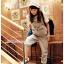 ชุดเอี๊ยมจั๊มสูทคลุมท้อง ขายาว : สีเทา รหัส BM033 thumbnail 2