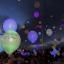 ลูกโป่ง LED สีน้ำเงิน แพ็ค 5 ชิ้น ไฟสว่างเหมือนโคมไฟ (LED Blue Balloon - LED Fixed Mode) thumbnail 4