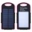 แบตสำรอง Power Bank พลังงานแสงอาทิตย์ 3 ระบบ กันน้ำได้ Solar Charger with LED Light ขนาด 50000 mAh thumbnail 1