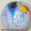 """ลูกโป่งกลมพิมพ์ลาย สีรุ้ง ไซส์ 12 นิ้ว แพ็คละ 5 ใบ (Round Balloons 12"""" - Rainbow Printing latex balloons) thumbnail 11"""