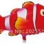Clown Fish Shape Balloon - ลายปลาการ์ตูน นีโม่ / Item No. TL-B006 thumbnail 2