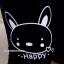กางเกงคลุมท้องผ้าคอตตอนสี่ส่วน ลายกระต่าย Happy : สีดำ รหัส PN160 thumbnail 10