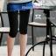 กางเกงเลคกิ้งคลุมท้อง ผ้าคอตตอน : สีดำ รหัส PN048 thumbnail 7