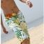 พร้อมส่ง ชุดว่ายน้ำคู่รัก ชุดว่ายน้ำบิกินี่ทูพีช พร้อมผ้าคลุมผืนใหญ่สวยๆ ลายดอกไม้ใบไม้ thumbnail 11
